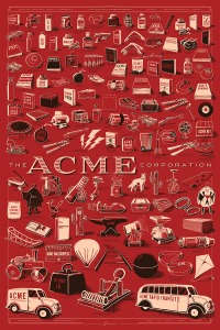 every product from the ACME Corporation